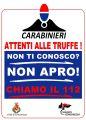 Carabinieri e Comune alleati contro le truffe