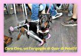 L'immenso abbraccio alla piccola Cleo: ora può camminare