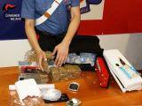 2 chili di droga in cassaforte, arrestati in città due quarantenni
