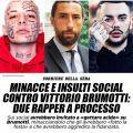 Minacce a Brumotti, due monzesi a processo