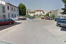 Il parcheggio di via Sauro