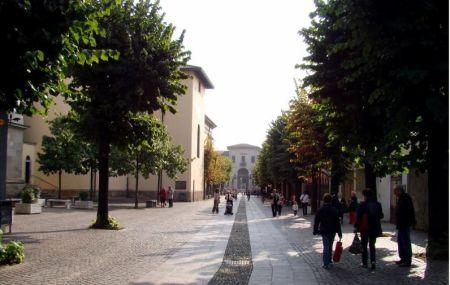 Il centro di Concorezzo (via De Capitani)