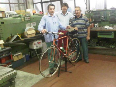 La bici elettrica di Andrea Brambilla